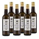 Vino Manzanilla La Goya de 75 cl - D.O. Manzanilla Sanlucar - Bodegas Delgado Zuleta (Pack de 6 botellas)