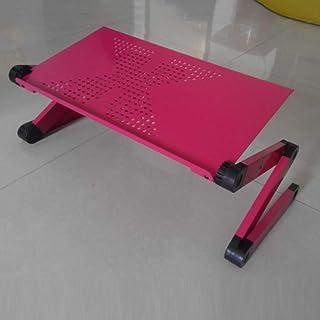 JJJJD Faltender Laptop-Tabellen-Behälter-Halter Laptop-Tabellen-Behälter-Halter Laptop-Tabellen-Behälter-Halter und Maus-Brett, drehender Abschnitt kann 360 Grad, 420  260mm gedreht Werden (Farbe   rot) B07NV827YJ  Vollständige Palette von Spezifikationen cac6bc