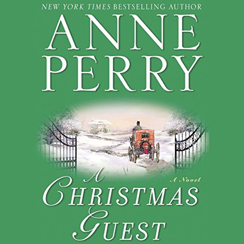 A Christmas Guest audiobook cover art