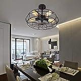 Lingkai vintage Lámpara de techo industrial lámpara de araña rusticas para sala de estar,...