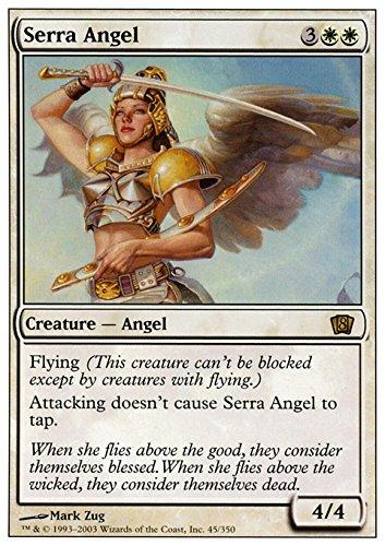 Magic The Gathering - Serra Angel (32/249) - Magic 2014