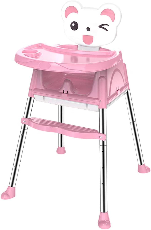 Hhenverstellbarer Kinderstuhl, Baby-Esszimmerstuhl, Babyhochstuhl Farbe  B