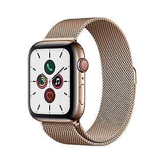 Apple Watch Series 5 (GPS+Cellular, 44 mm) Edelstahlgehäuse Gold - Milanaise Armband Gold (B07XS8VT9M) | Amazon price tracker / tracking, Amazon price history charts, Amazon price watches, Amazon price drop alerts