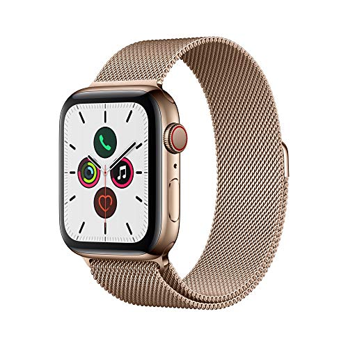 Apple Watch Series 5 (GPS Cellular 44 mm) Oro