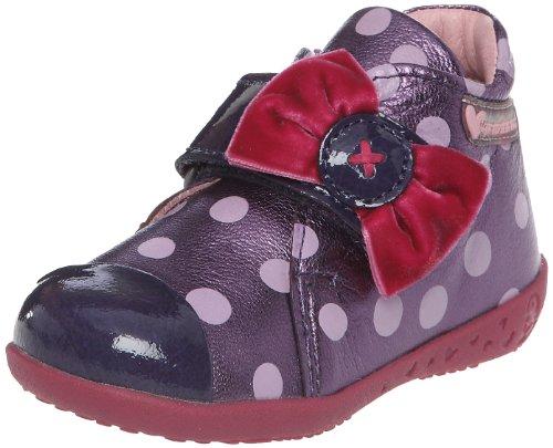 Agatha Ruiz de la Prada 121928 121928 - Zapatos para bebé de cuero para niña, color morado, talla 24