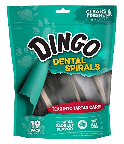Dingo Dental Spirals, 19 Pack (Dn-99110)