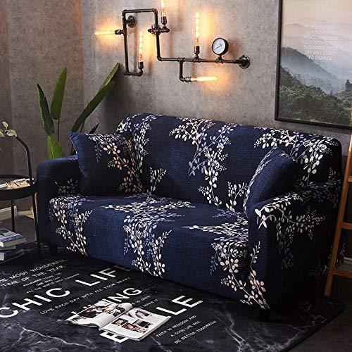WXQY Funda de sofá elástica Flexible para Sala de Estar, se Puede Utilizar para Funda de sofá seccional en Forma de L Chaise Longue A8 de 4 plazas