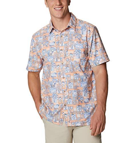 Columbia Super Slack Tide Camp Camisa para Hombre, Color Grande