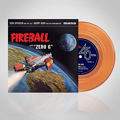 Zero G (Fireball XL5) (Original Soundtrack) (Transparent Orange Vinyl)