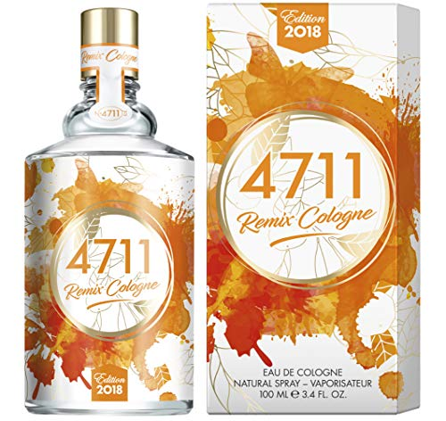 4711 Remix Edition Orange. Eau de Cologne. Spray 100 ml.