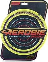 Aerobie 6046393 - Sprint Flying Ring pierścień do rzucania o średnicy 25,4 cm, żółty