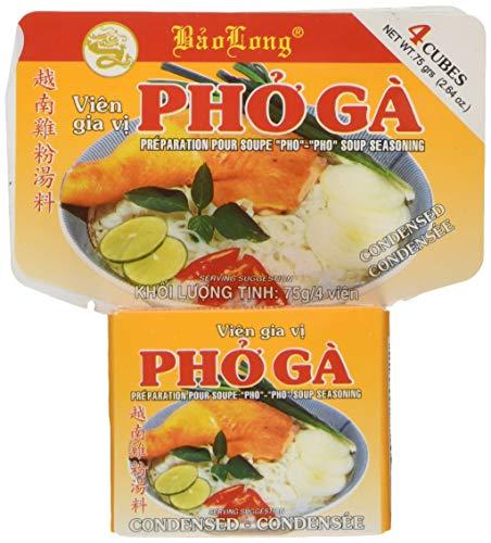 Bao Long Brühwürfel Huhn/pho ga, 12er Pack (12 x 75 g)