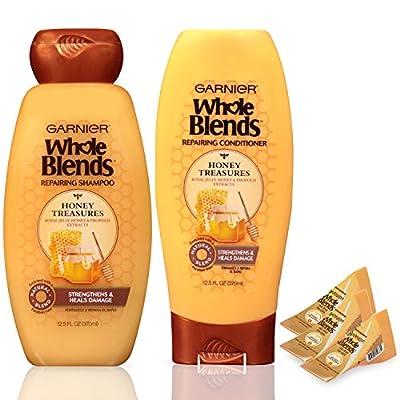 Garnier Hair Care Whole Blends Honey Treasures Repairing Shampoo & Conditioner