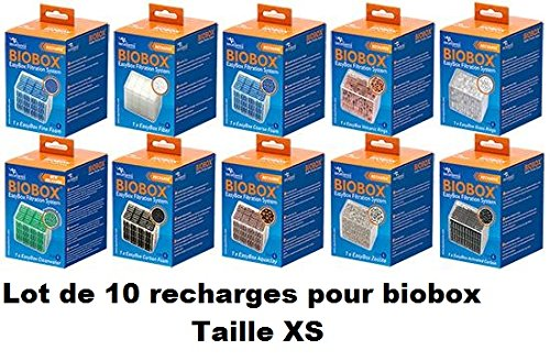 Inconnu Lot de 10 recharges Biobox XS