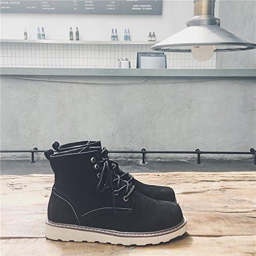 HL-PYL-Stiefel schuhe, Stiefel, Stiefel, Stiefel, Stiefel, Stiefel y Stiefel Stiefel masculinas, la versión coreana Stiefel de trabajo,39,schwarz