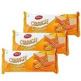 Tiffany Crunch n Cream Wafers (Orange, 150GM, Pack of 3)