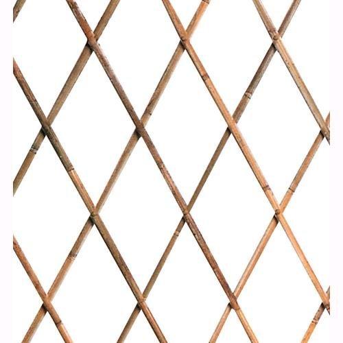 GDLC Traliccio Estensibile in Legno Bamboo Dimensioni 90x240 Cm.
