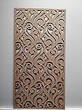 Laserkris, graticola, per schermare il radiatore a parete, decorativo, pannello in MDF perforato (4x 2) Z2
