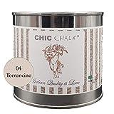Chic Chalk - 500 ml TORRONCINO - Pittura gessosa super opaca. Aderisce su tutte le superfi...