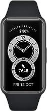 Huawei Band 6 Smartwatch, sporthorloge + adapter type C, bewaking van het hartritme, SpO2 en slaap, 96 trainingsmodi, loop...