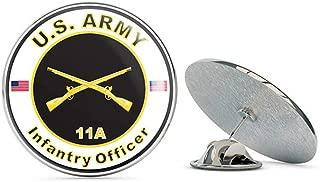 Veteran Pins U.S. Army MOS 11A Infantry Officer Metal 0.75