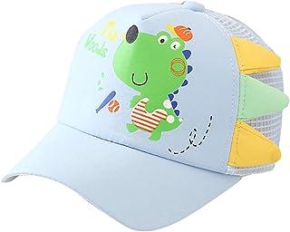 Cousannory ベビー 帽子 キッズ キャップ 子供 野球帽 幼児 ボールキャップ 帽子 赤ちゃん 日除け帽子 かわいい 恐竜 柄 サンハット つば広 ハット 男の子 女の子 uvカット 紫外線対策 韓国 モンスター 保育園 小学生 アウトドア