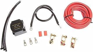 Wakauto Kit isolador de bateria dupla DC 12 V 140 A isolador de bateria dupla relé sensível à tensão, kit de sistema de ba...