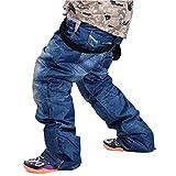 Pantalons De Ski pour Hommes en Plein Air Hiver Pantalon De Snowboard Professionnel Imperméable Coupe-Vent...