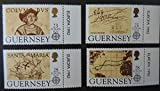 GUERNSEY 1992 500th DISCOVERY OF AMERICA BY COLUMBUS SG556-559 MNH SET 4 VALUES EXPLORERS ADVENTURERS