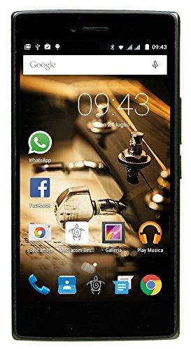 Mediacom PhonePad X530U Smartphone da 16 GB, Dual-SIM, Oro
