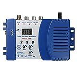 KKmoon Modulador compacto de RF Audio Video Convertidor de TV...