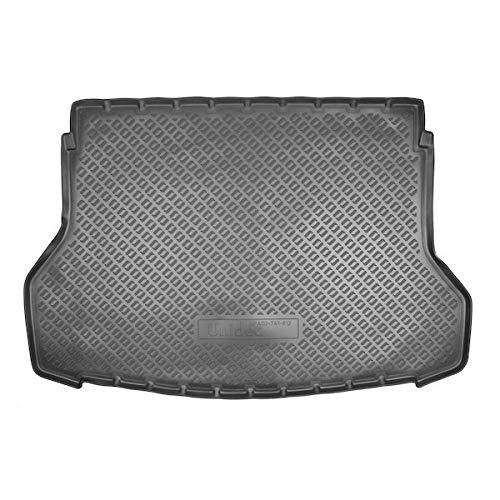 Sotra Auto Kofferraumschutz für den Nissan X-Trail - Maßgeschneiderte antirutsch Kofferraumwanne für den sicheren Transport von Einkauf, Gepäck und Haustier