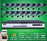 Gowe 1080p Full HD de 2 mégapixels extérieur Array IR rés