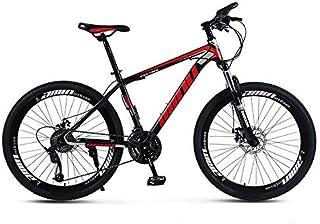 Areyourshop 26 inch Mountain Bike for Men Women Wheels 21 Speed Bicycle Carbon Frame