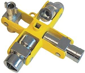 C K T4451-2 9-in-1 Universal Cross Key Wrench