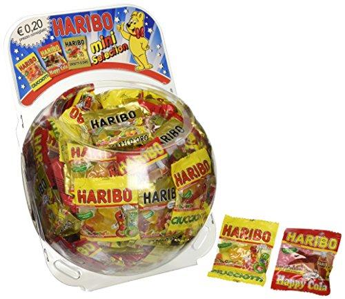 Haribo Caramelle Incartate Mini Selection Bustine - 150 bustine da 12g [1800g]