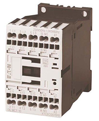 EATON DILAC-40(230V50HZ,240V60HZ) Contactor Auxiliar, con Bornes de Resorte, 4NA, 230V/50 hz, 240V/60...