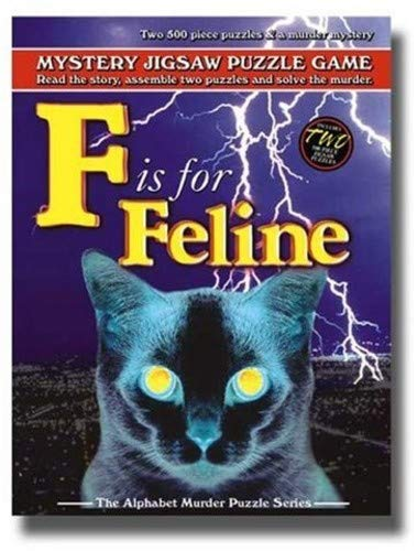 TDC Games F is for Feline - Alphabet Mystery Puzzle