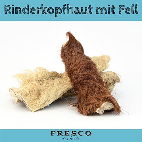 Fresco Dog Rinderkopfhaut mit Fell 1kg