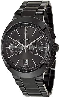 8c02833f6 Rado D-Star Black Polished Ceramic Automatic Analog Chronograph Black Dial  Mens Dress Watch R15200152
