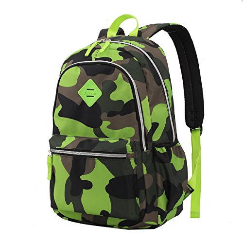 COTEetCI Kids Backpacks for Boys Camouflage Elementary School Bags Lightweight Bookbag