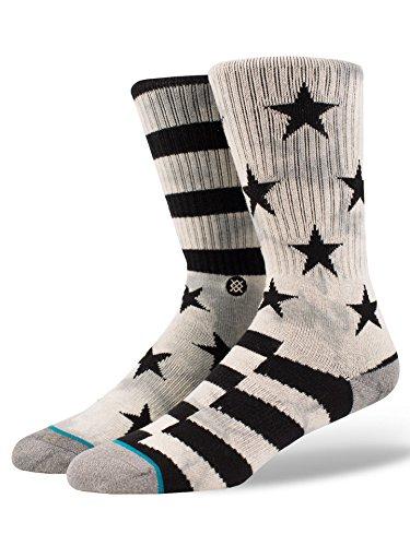 New Stance Men s Sidereal Sock Cotton Nylon Spandex Grey