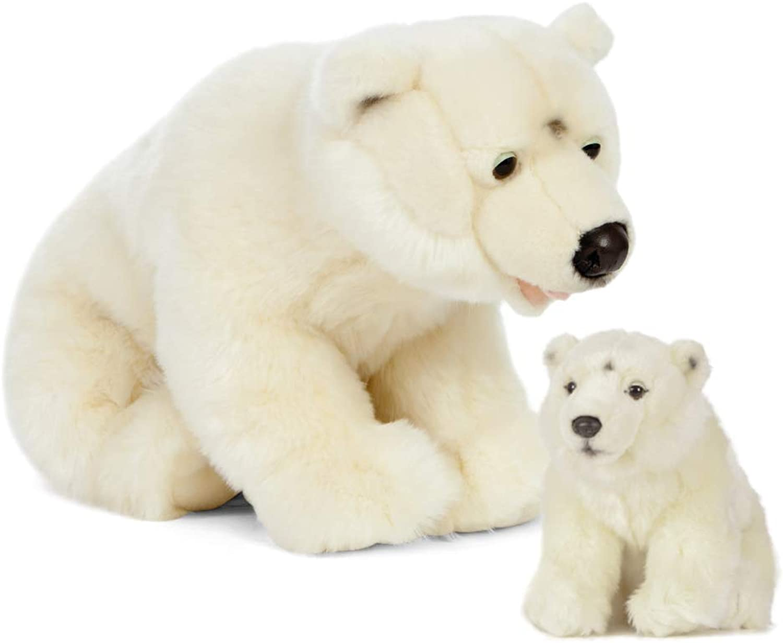 los últimos modelos Living Nature Living Nature-AN503 AN503-Oso Polar para Madre Madre Madre y bebé, Color blancoo, Talla única (Keycraft AN503  precios mas baratos