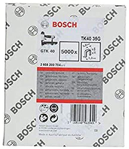 Bosch 2608200704 TK40 35G - Grapas (1,2 mm/18 g) [Importado de Alemania]