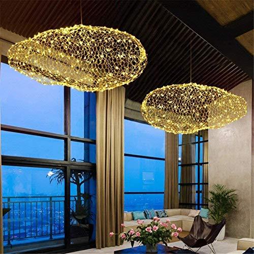 Luces LED Restaurante Bar Cafetería-restaurante Grand Decoración nube blanca de la lámpara habitación en la puesta púas Marcas techo de nubes iluminación de la lámpara LED interno