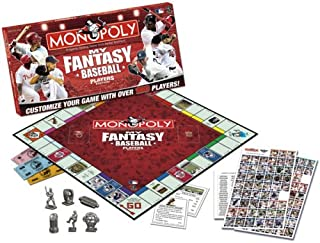 Usaopoly My Fantasy Baseball Players Edition Monopoly