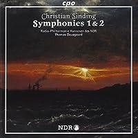 シンディング:交響曲 第1番 ニ短調 Op.21/同 第2番 ニ長調 Op.83