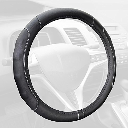 13 leather steering wheel cover - 1