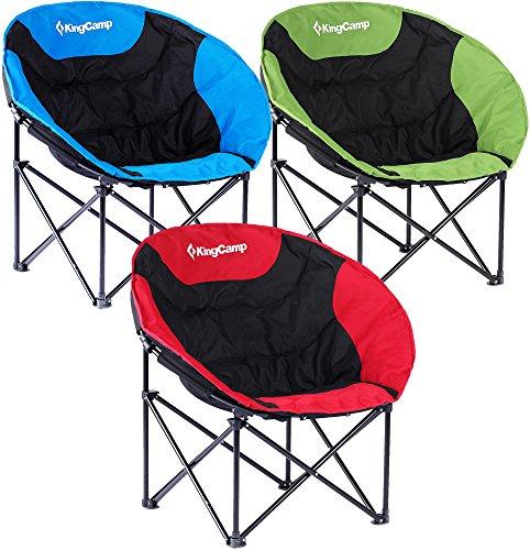 KingCamp sedia di svago di luna Lightweight per...