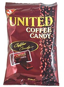 United Coffee Candy 4.94oz - 3 Bags of 4.94oz ea